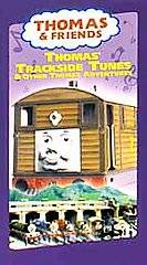 Thomas Friends   Trackside Tunes VHS, 2001, Includes a Toby Toy Train