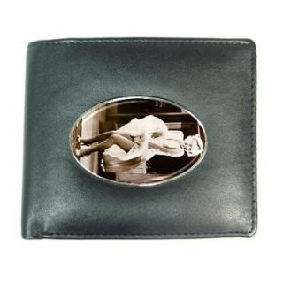 Marilyn Monroe 3 Mens Leather Wallet Credit Card Gift
