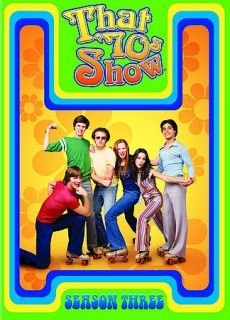 That 70s Show   Season 3 DVD, 2005, 4 Disc Set