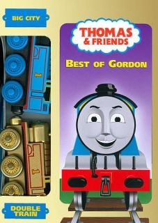 Thomas Friends   Best of Gordon DVD, 2009, With Double Toy Train