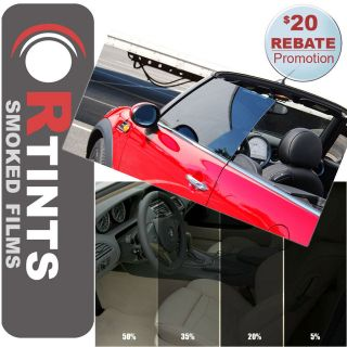 Pro Precut Front Door Window Tint Kit Mazda Miata Hardtop / MX 5 2006