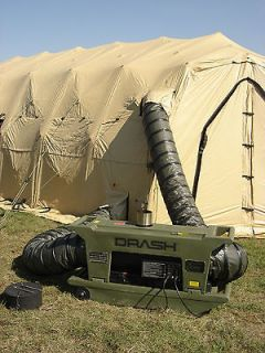 Military Tent DRASH Moble Heater