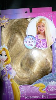 NEW DISNEY TANGLED RAPUNZEL WIG 2 FEET LONG BLONDE