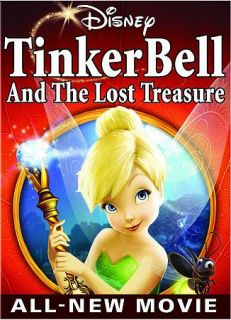 Tinker Bell And The Lost Treasure DVD, 2009
