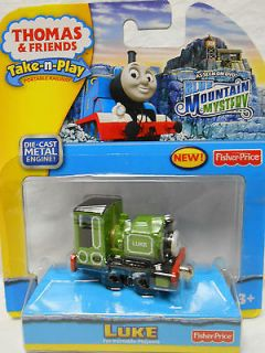 THOMAS the TANK ENGINE Take n Play~ LUKE ~ Blue Mountain Mystery