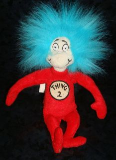 THING 2 OFFICIAL MOVIE MERCHANDISE Plush Doll Figure Cat in the Hat