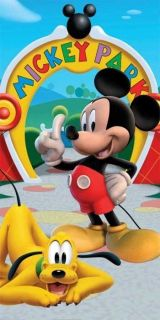 Disney Mickey Mouse Park HBA 1541 Beach Towel Bathroom 30x60