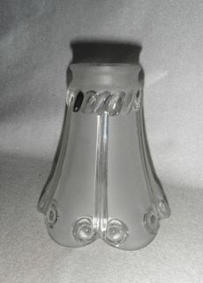 Glass Ceiling   Torchiere Light   Lamp Shade   Rope & Scroll Pat