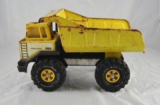 Vintage Tonka Mighty Turbo Diesel Metal Toy Truck Dump Truck Rust