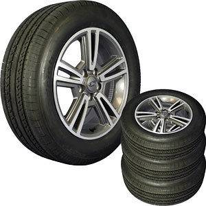 mustang wheels and tires in Wheel + Tire Packages