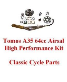 Tomos A35 64cc Big Bore Airsal Hi Performance Engine Kit Targa LX