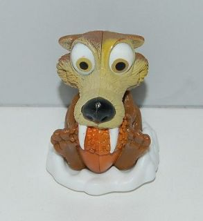 Scrat Roller Slider Kelloggs Cereal Box Toy Ice Age 2 The Meltdown