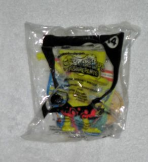 spongebob toy mcdonalds happy meal