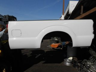 2012 2011 FORD SUPERDUTY TRUCK WHITE TAKE OFF BED 12 11