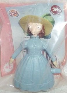 BURGER KING TOY   RANGO   TWIRLIN MS. BEAN