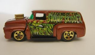 Hot Wheels 2003 Halloween Highway 56 Ford Truck Legend of the Swamp