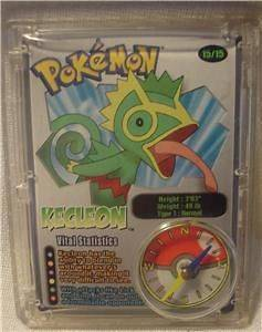 Pokemon Wendy Happy meal toy Kecleon