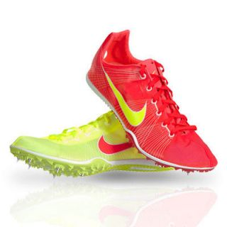 Nike Zoom Victory Running Track Spikes Red Yellow 2012   BRAND NEW