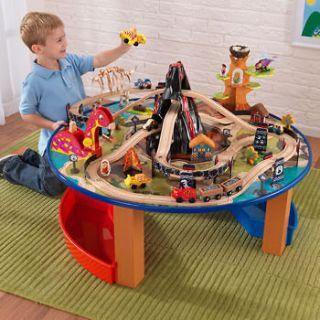 KidKraft Dinosaur Train Table 95 piece train set   FAST