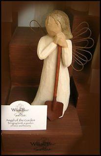 Willow Tree Demdaco Angel of the Garden w spade NIB