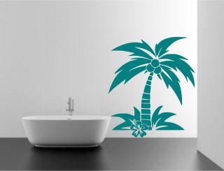 palm tree stencil in Crafts