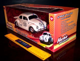 THE LOVE BUG FULLY LOADED STREET RACER RC R/C RADIO CONTROL CAR NEW