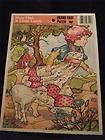 Mary Had A Little Lamb Vintage Frame Tray Puzzle Mint Condition Unused