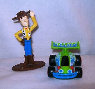 Toy Story RC Car Toy Burger King Disney Pixar 3 ½ tall Cowboy Woody