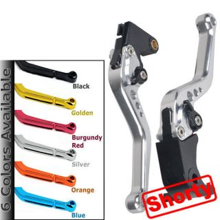 Silver Short Brake Clutch Lever For Honda CBR 600RR CBR600RR 2007 2008