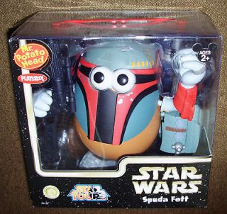 Disney Park Exclusive Star Wars Mr. Potato Head Spuda Fett OUT OF