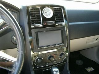 Black Chrome Interior Dash Trim Kit OEM 2008 2010 (Fits: Chrysler 300