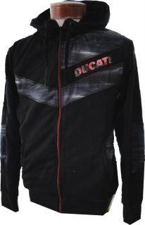 NEW Mens $100 PUMA DUCATI Licensed SWEATSHIRT Hooded Jacket HOODY
