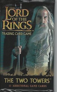 the Lord of the Rings Trading Card Game The Two Towers(11 Cards/pack