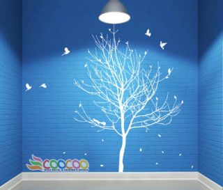 Wall Decor Decal Sticker Removable large tree trunk 90