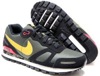 NIKE Air Waffle Trainer Mens Shoes SZ 8 ~ 13 #429628 300 khaki/gld
