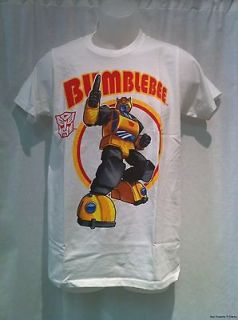 New Licensed Transformers Autobot Bumblebee With Symbol Adult Shirt