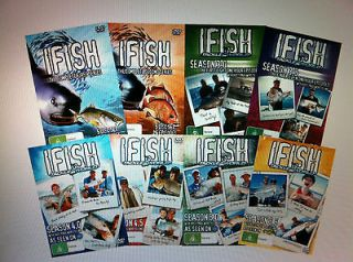 DVDs Complete SERIES 1, 2, 3, 3.5, 4, 4.5, 5, 5.5 BNEW Fishing TV