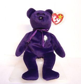 TY Princess Diana Wales Beanie Baby Babies Bear Original 1997 PE