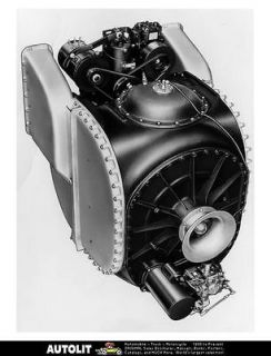 1967 Ford Prototype Gas Turbine Engine Factory Photo
