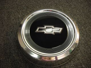 CHEVY PICKUP TRUCK DOG DISH HUB CAP   NEW