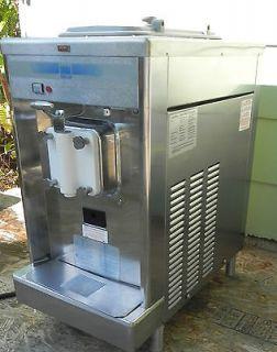 702 27 Soft Serve Ice Cream Machine Custard Sorbet Yogurt Counter