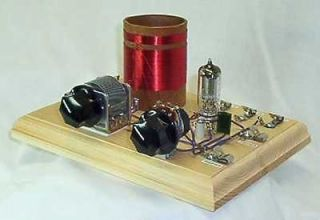 ARMSTRONG ONE TUBE SET RADIO KIT WITH EARPHONE   CRYSTAL MAN