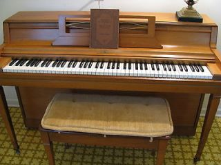 1960's Wurlitzer walnut upright spinet piano Local pickup Frankfort