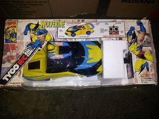 Tyco R/C Radio Control X Men Wolverine Car (1993)(CB) NEW