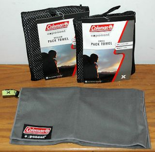 SMALL & MEDIUM SIZE PACK CAMP HUNT BACKPACK MICROFIBER TOWELS