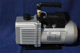 Vane HighPerformance Deep Vacuum Pump 6CFM HVAC+Check Valve+3Ports