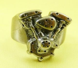 Twin Motorcycle Engine Ring Size 11, 12,13,14,15