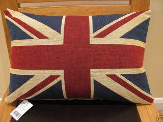 Union Jack Tapestry Cushion British United Kingdom Flag