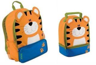 Stephen Joseph Sidekicks Backpack Preschool School Lunch Pals Bag Box