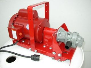 New 1 HP Waste Oil Transfer Pump, 15 GPM, for Heaters,Burners,Furnace